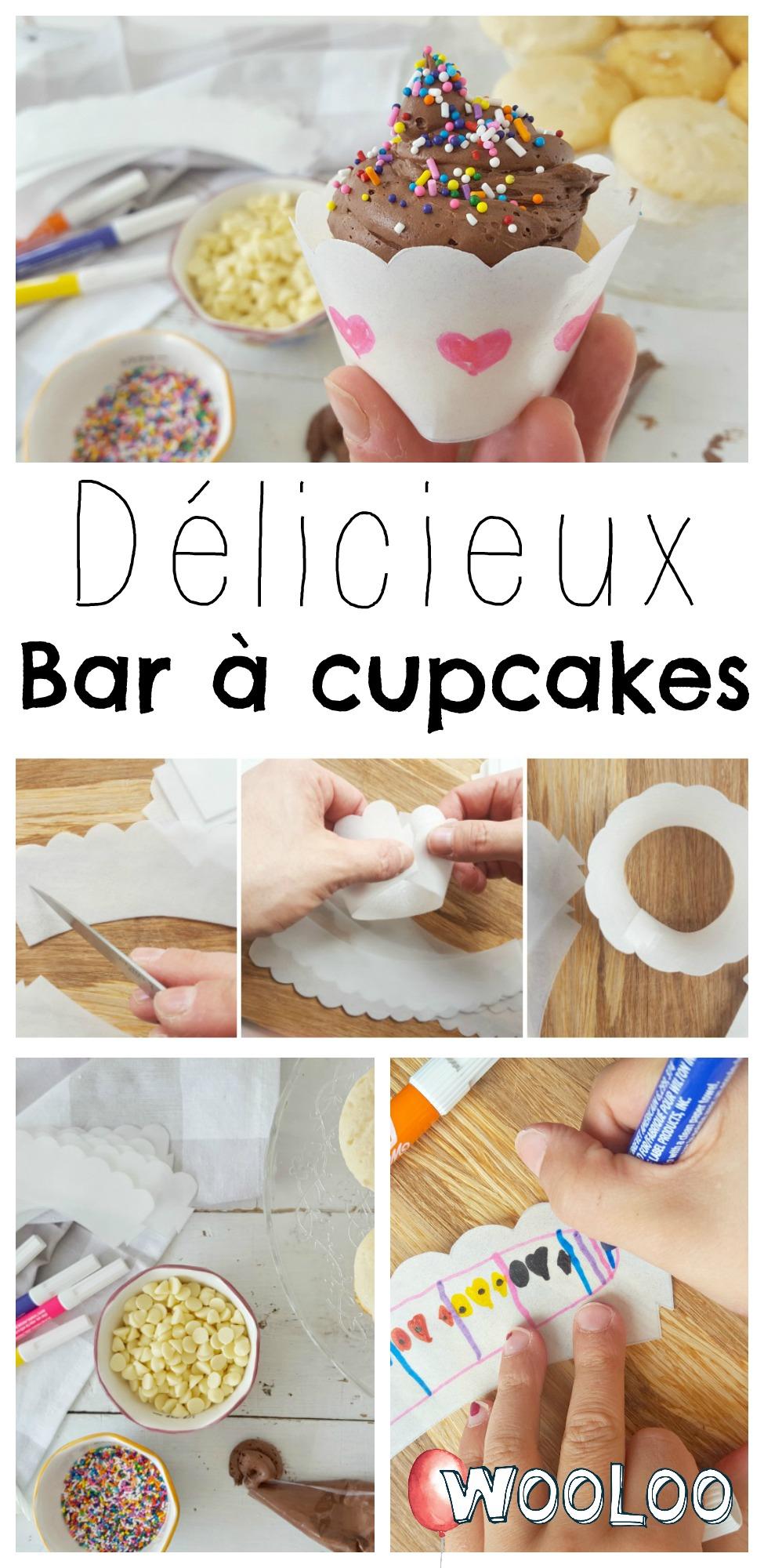 Wooloo cupcake bar