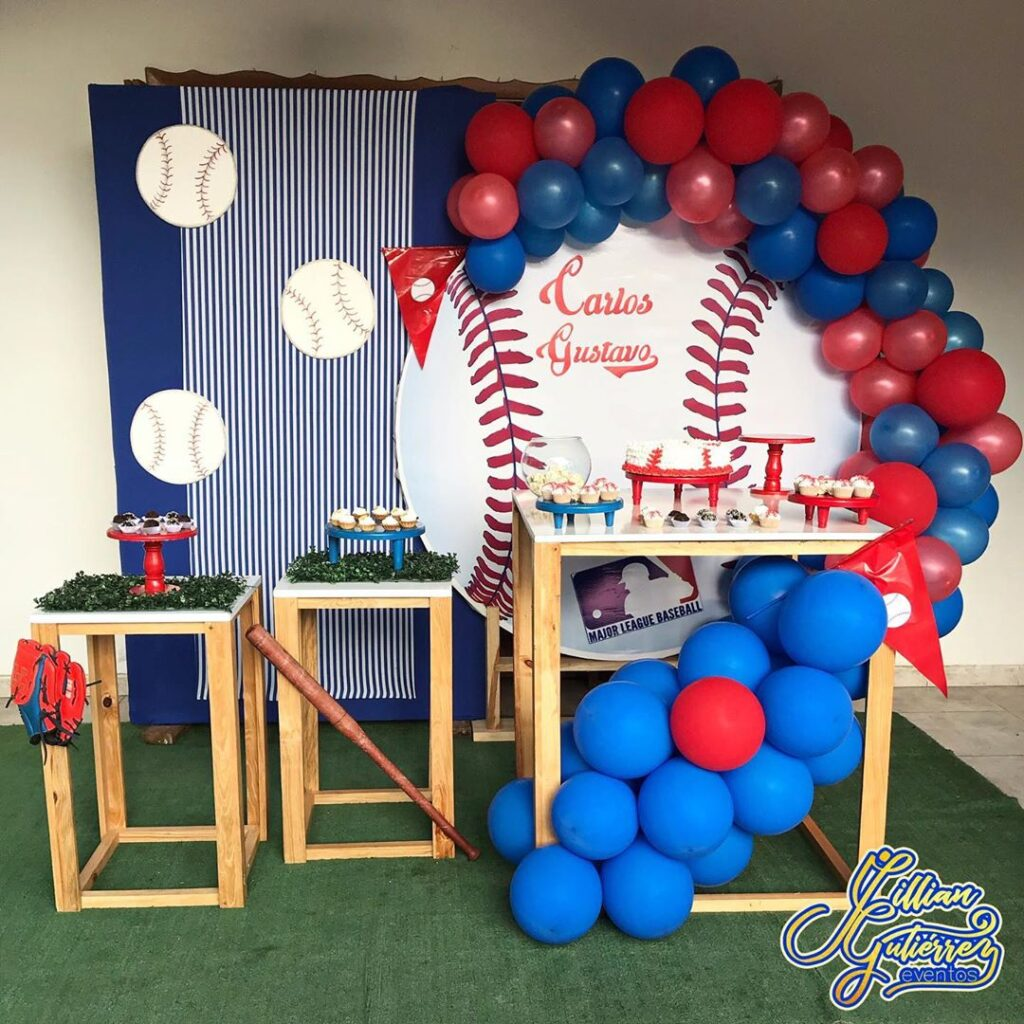 baseball themed party