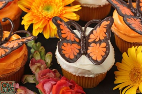 Butterfly Cupcake Detail