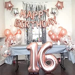 sweet 16 decorations for girls sweet sixteen gifts sweet 16 cake topper 16th birthday decorations