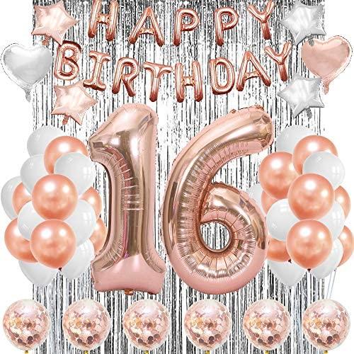 1609624943 16th birthday party decorations Sweet 16 Birthday Decorations Girls