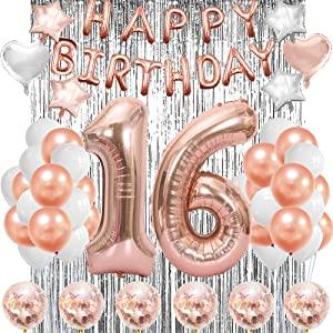 16th balloons