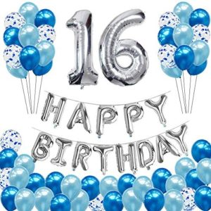 1609781916 16th birthday party decorations 16th Birthday Balloons Decorations
