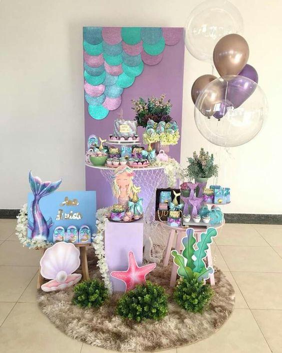 mermaid kids party