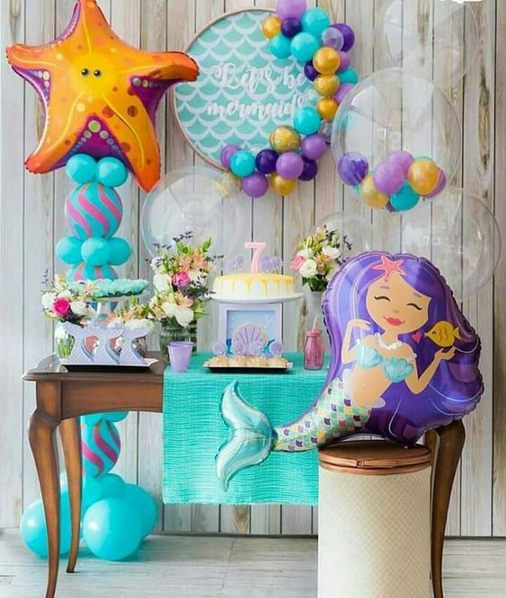 mermaid party for girl