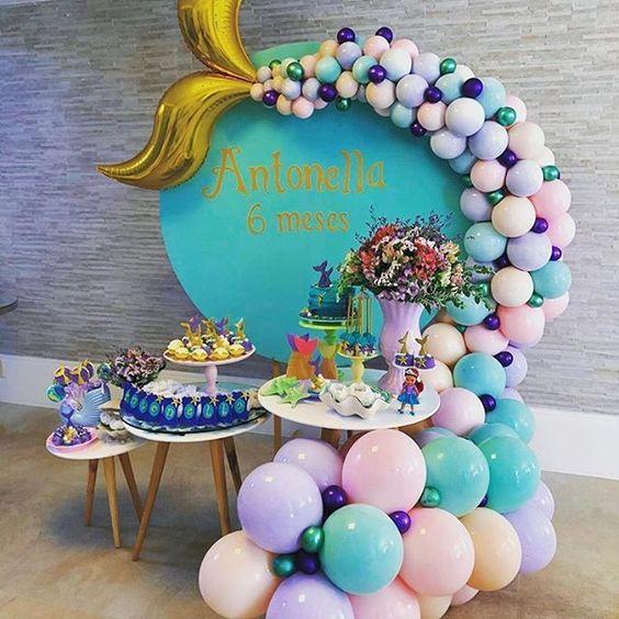 mermaid theme party
