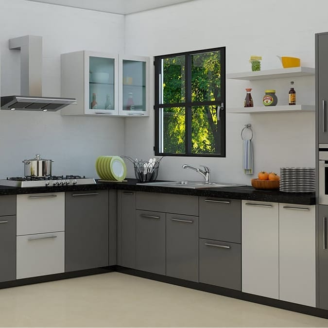 1610240525 175 Modern kitchens L shaped small and bar designs