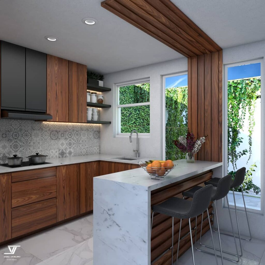 kitchens with bar
