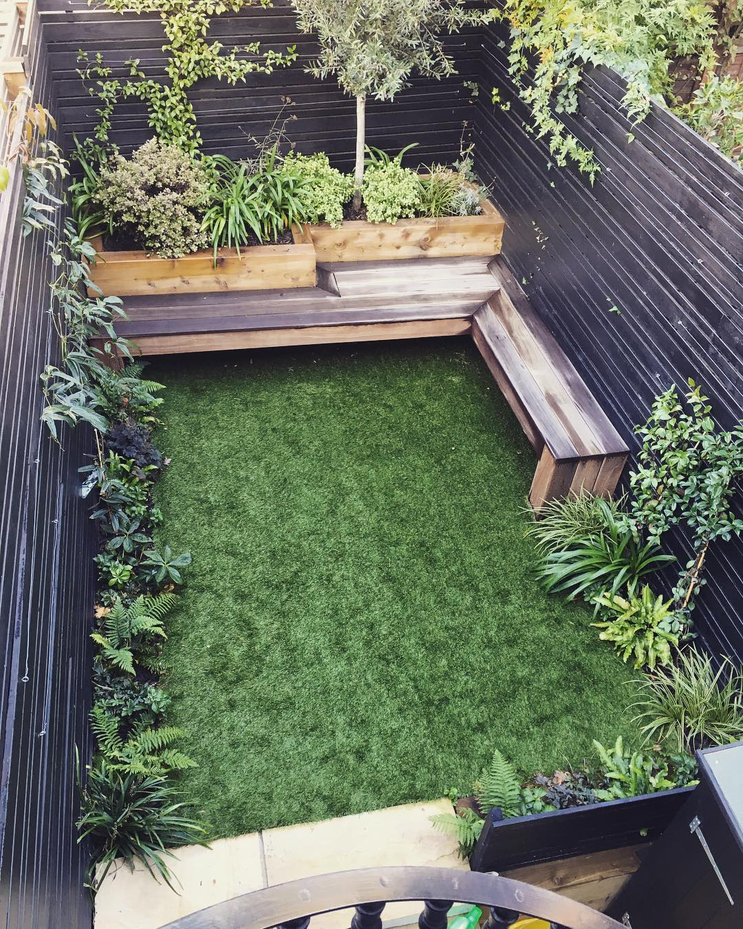 ideas for small patios