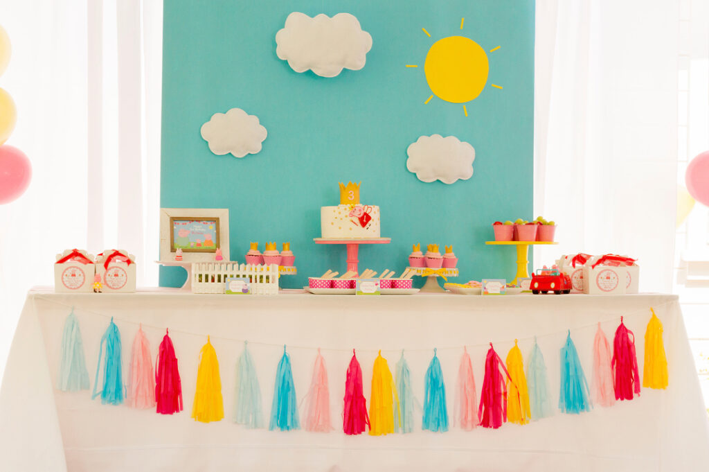 Simple Peppa Pig Party Ideas