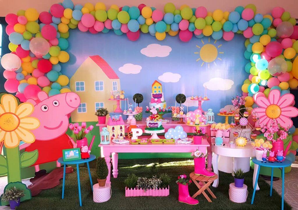 peppa pig party idea