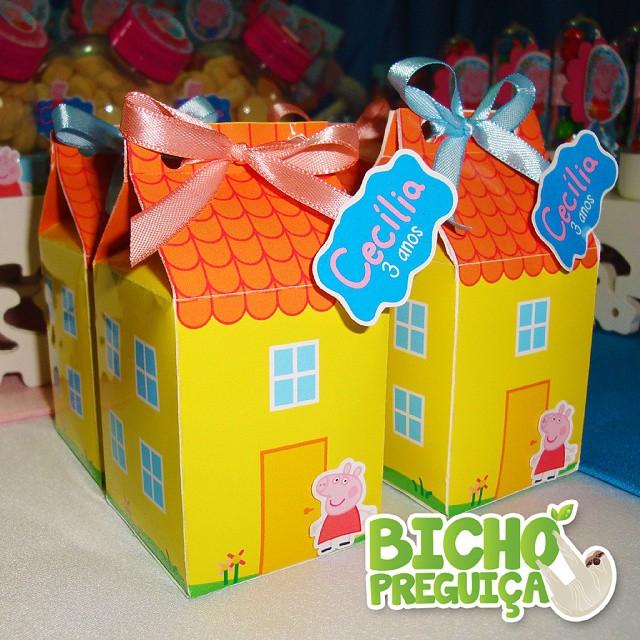original peppa pig candy boxes