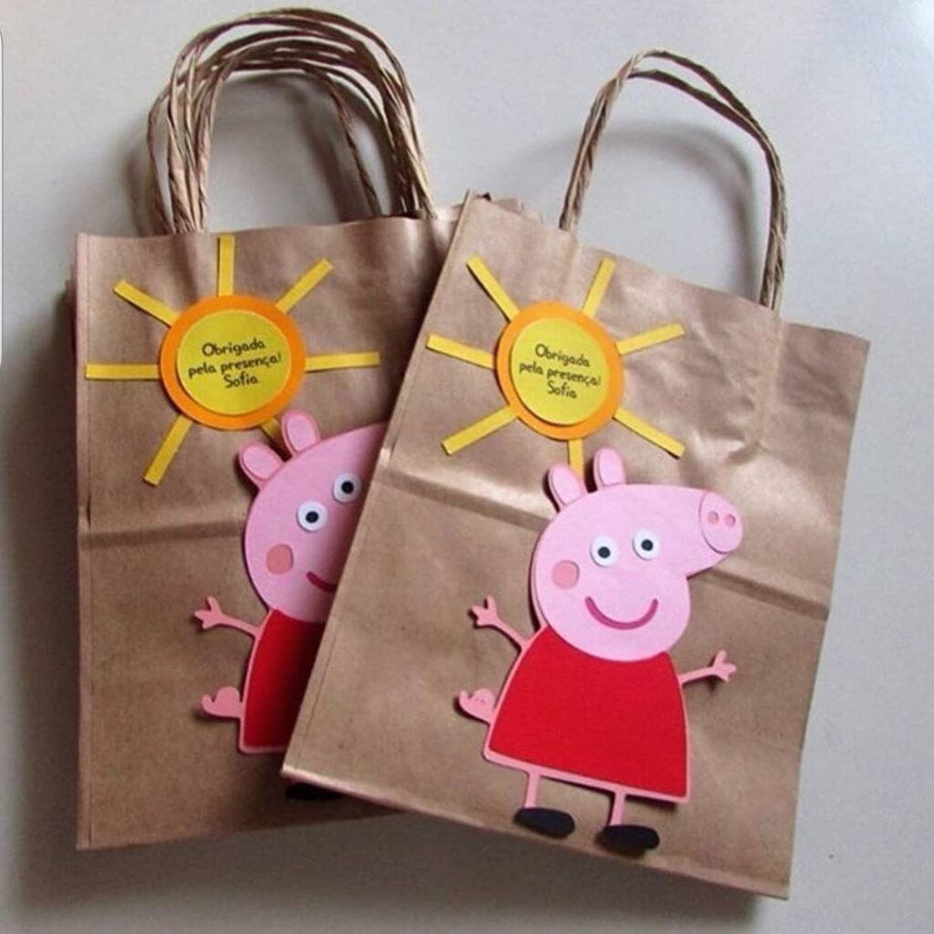 Peppa Pig Candy Box Ideas