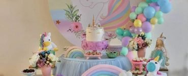 1610953895 Unicorn Party Decoration cakes centerpieces and more ideas