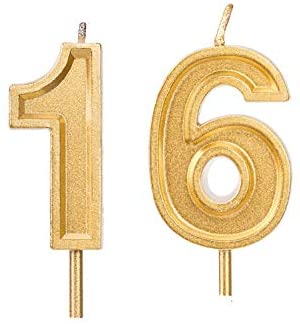 16th birthday party decorations 276 inch Gold 16th Birthday