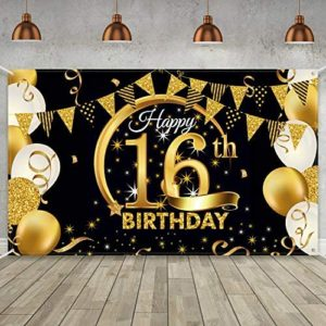 16th birthday party decorations Birthday Party Decoration Extra Large
