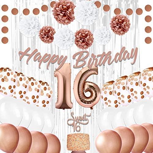 16th birthday party decorations EpiqueOne 16th Birthday Party Decorations