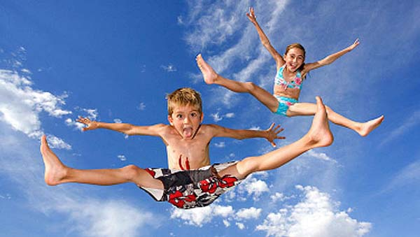 4 fun group games for a childrens party