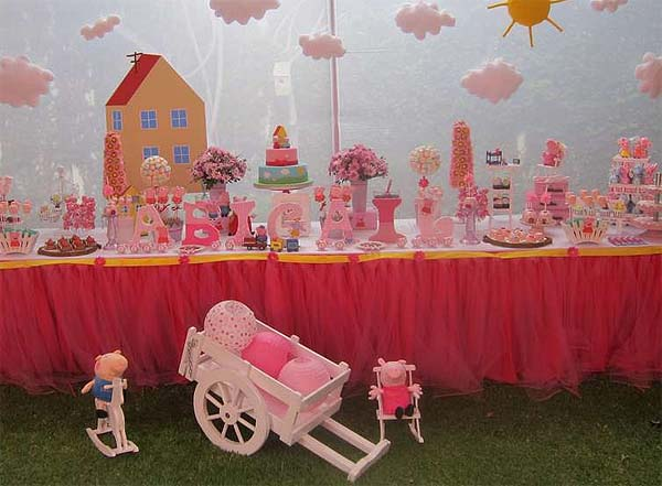 Ideas for a Peppa Pig party