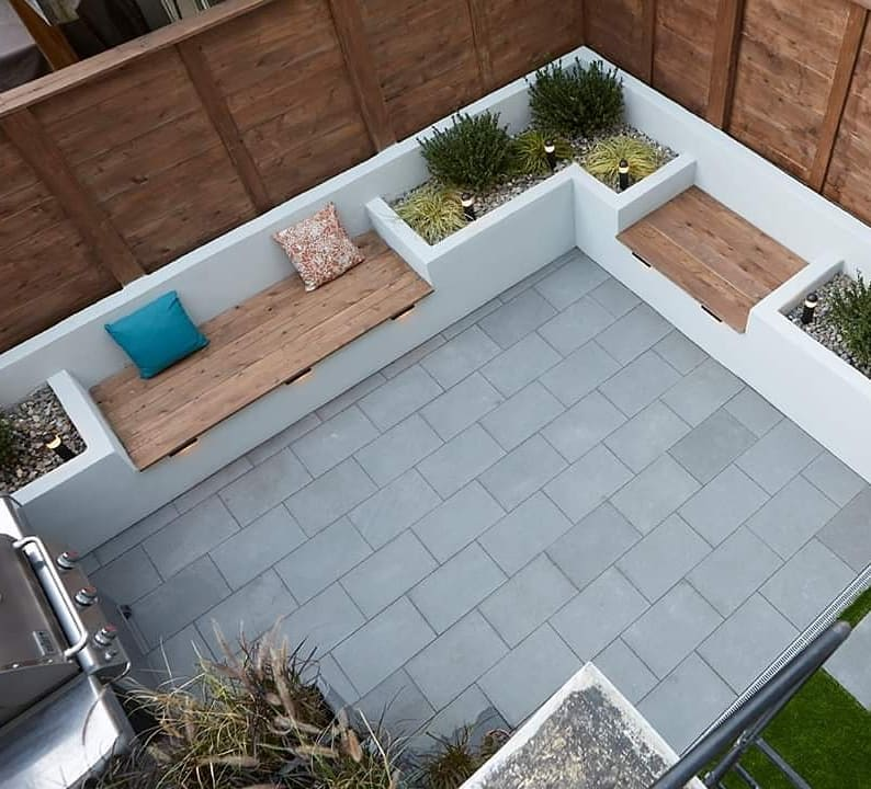 reduced courtyards