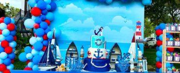1614282252 Sailor Party Ideas Birthday decoration