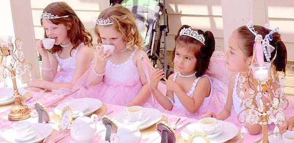 Ideas to decorate a princess party