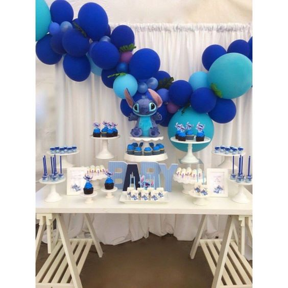 Stitch Party Ideas Guide to decorate birthdays