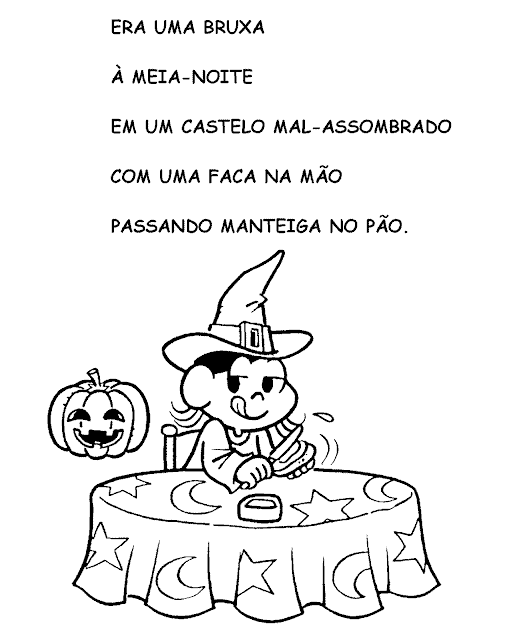 parlenda curtinha with drawing to paint