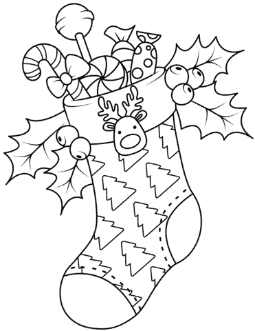 children's christmas activity coloring