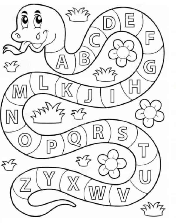 literacy activity to paint