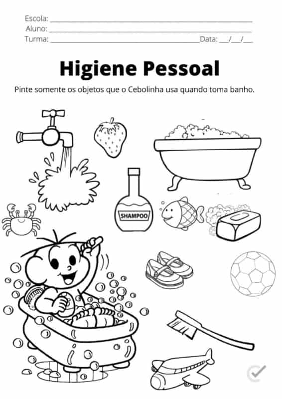 simple activity for coloring