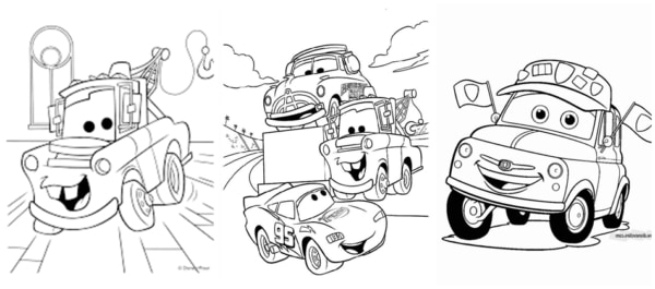 Cars coloring pages for free and coloring