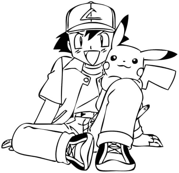drawing to print Pokemon