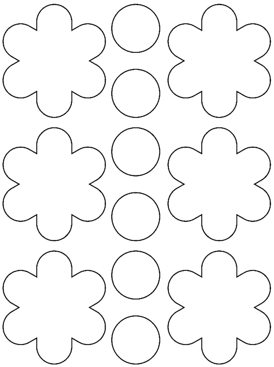 Templates for making beautiful paper flowers