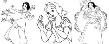 1618032972 659 60 drawings from 【SNOW WHITE TO COLOR】 • 2021