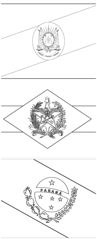 southern states flags for coloring