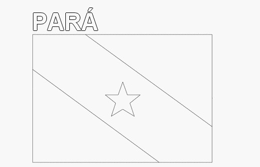 Para flag for coloring