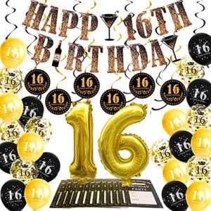1619381135 16th birthday party decorations 16th Birthday Party Decorations Kit