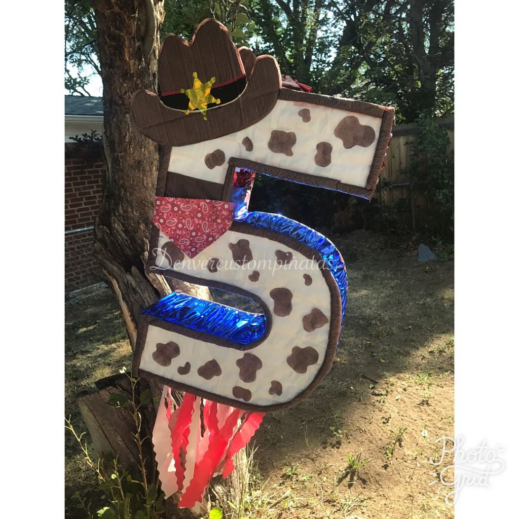 Cowboy pinata