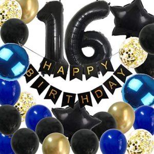 16th birthday party decorations 16th Birthday Decorations Boys