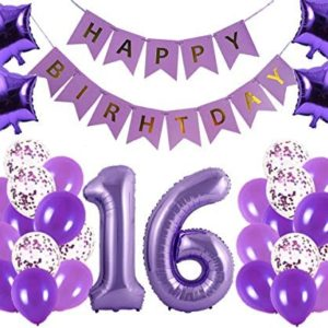 16th birthday party decorations 16th Birthday Party Decorations Kit
