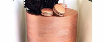 1621784497 Rose Gold Decorated Cake Ideas