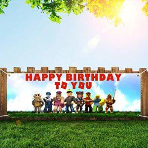1621874100 roblox birthday party decorations Robot Blocks Party Supplies Birthday