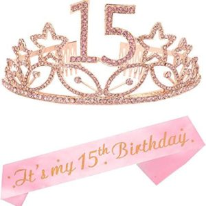 1621894350 15th birthday party decorations 15th Birthday Gifts for Girl