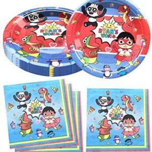 1622211379 ryans world birthday party decorations Ryans World Party Supplies