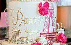 Decorated Cake Ideas One Night In Paris