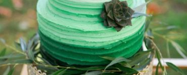 Green Decorated Cake Ideas