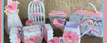 Pink and Blue Party Favors