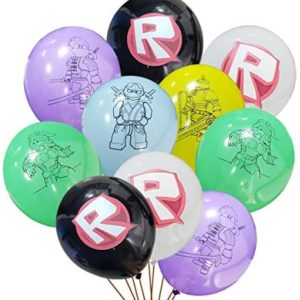 roblox birthday party decorations 24 pcs Video game balloons