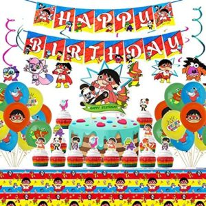 ryans world birthday party decorations Gadeja 49Pcs Ryans World